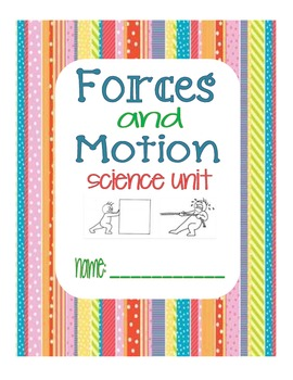 Science Forces And Motion Unit2
