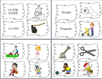 Science - Forces & Motion Bilingual Flashcards