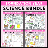 Science Foundation Year Bundle Living Things, Materials, Seasons and Movement