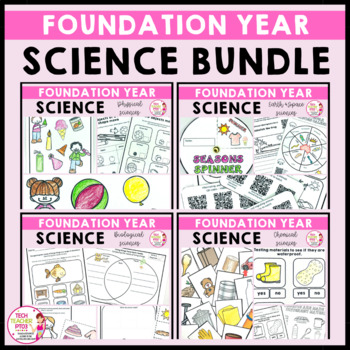 Foundation Year Science Bundle Australian Curriculum