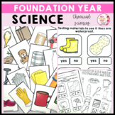 Science Foundation Year Chemical Sciences Australian Curriculum