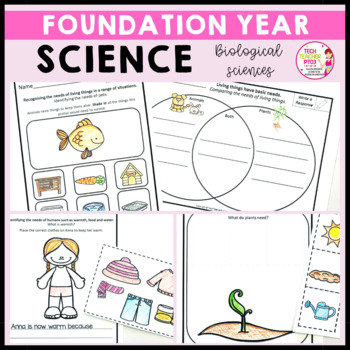 Science Foundation Year Part One Living Things Have Needs & Material Properties