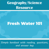 Science - Fresh Water 101