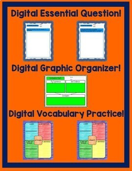 Science Friction Journeys 6th Grade Lesson 8 Google Digital Resource