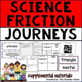 Science Friction Journeys 6th Grade Unit 2 Lesson 8 Activities and Printables