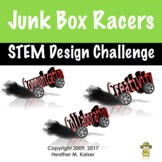 STEM Design Challenge: Junk Box Racer