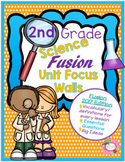 Science Fusion 2nd Grade Unit Focus Walls (2017)