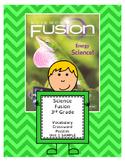 Science Fusion 3rd Grade Vocabulary Crossword Puzzle - Uni
