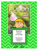 Science Fusion 3rd Grade Vocabulary Crossword Puzzles (All 8 Units - 7 Pages)