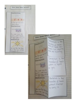 Science Fusion 4th Grade Interactive Notebook Unit 7 & 8