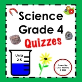 Science Fusion 4th grade Science Printables Units 2 - 5