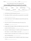 Science Fusion 5th Gr U 8 Lesson 1 - How Do Movements of the Crust Change Earth