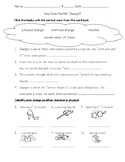 Science Fusion 5th Grade Unit 13 Lesson 3 - How Does Matter Change?