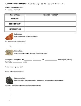Science Fusion 8th Gr - The Dynamic Earth - Minerals & Rocks: THE ROCK CYCLE