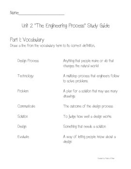Science Fusion Grade 3 Unit 2 Test and Study Guide