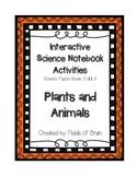 Science Fusion Grade 3 Unit 3 Interactive Science Notebook Activities