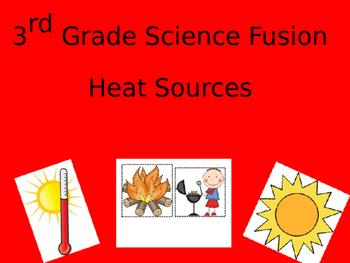 Science Fusion, Grade 3, Unit 6- Heat Sources Powerpoint