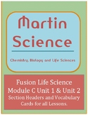 Science Fusion Life Science Module C Lesson Headers and Vo