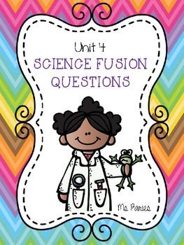 Science Fusion Questions: Unit 4 ENERGY