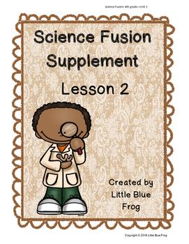 Science Fusion Supplement 4th grade Unit 1 Lesson 2