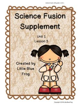 Science Fusion Supplement 4th grade Unit 1 Lesson 5