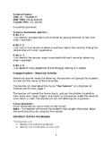 Science Fusion Unit 1 - Lesson 1