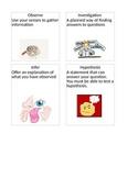Science Fusion Unit 1 Lesson 1 Vocabulary Card
