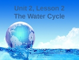 Science Fusion Unit 2, Lesson 2: The Water Cycle PowerPoint