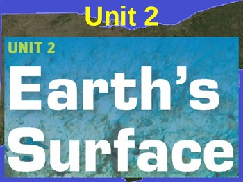 Science Fusion Unit 2, Lesson 3 Topographic Maps notes