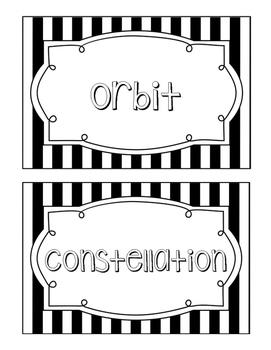 Science Fusion Unit 2 Vocabulary - 4th Grade