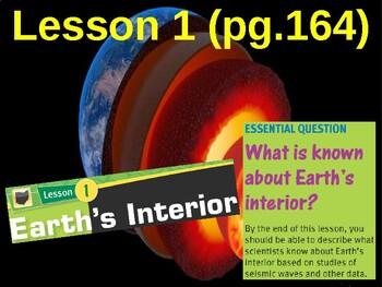 Science Fusion Unit 3, Lesson 1 Earth's Interior notes