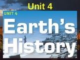 Science Fusion Unit 4, Lesson 1 Geologic Change Over Time notes