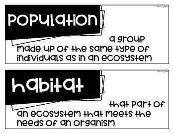 Fourth Grade Science Fusion - Unit 4 Vocabulary