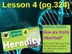 Science Fusion Unit 5, Lesson 4 Heredity notes