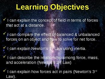 Science Fusion Unit 7, Lesson 1 Forces notes