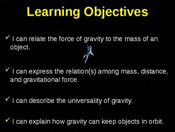 Science Fusion Unit 7, Lesson 2 Gravity and Motion notes