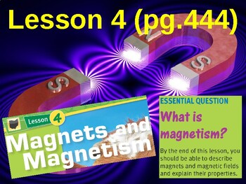 Science Fusion Unit 7, Lesson 4 Magnets & Magnetism notes