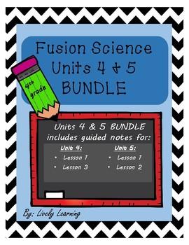 Science Fusion Units 4 & 5 BUNDLE!