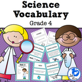 Science Fusion Vocabulary 4th Grade