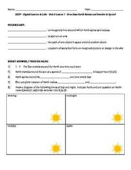 Science Fusion - worksheets for unit 2 digital... by Lara Haley ...