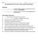 Science Fusion - worksheets for unit 5 digital lesson grade 4