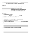 Science Fusion - worksheets for unit 9 digital lesson grade 4