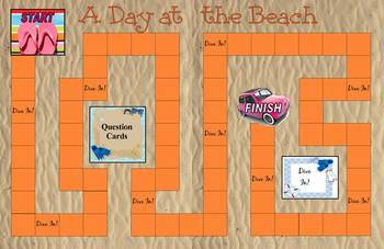 Science Game: A Day at the Beach - Water Cycle, Clouds, Weather