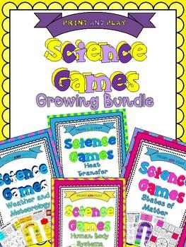 Science Game Bundle