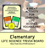 Life Elementary Science Trivia Board Game