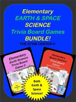 "Science Game: Elementary Bundle Space Science ""Making Science Fun!"""