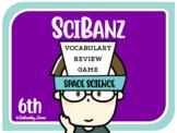 Science Games: 6th Grade Space Science Vocabulary Review {SciBanz}