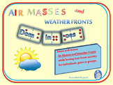 Air Masses and Weather Fronts Dominoes