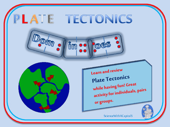 Science Games: Plate Tectonics Dominoes