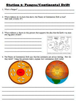Science Geology Test Review Stations